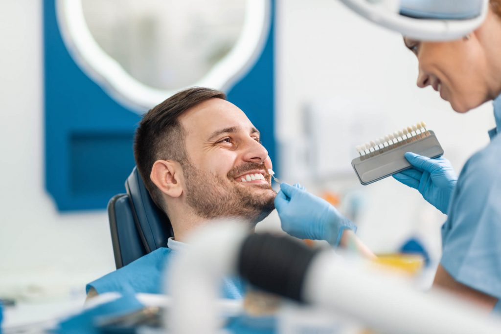 Smiling Man with Dental Implants in West Palm Beach