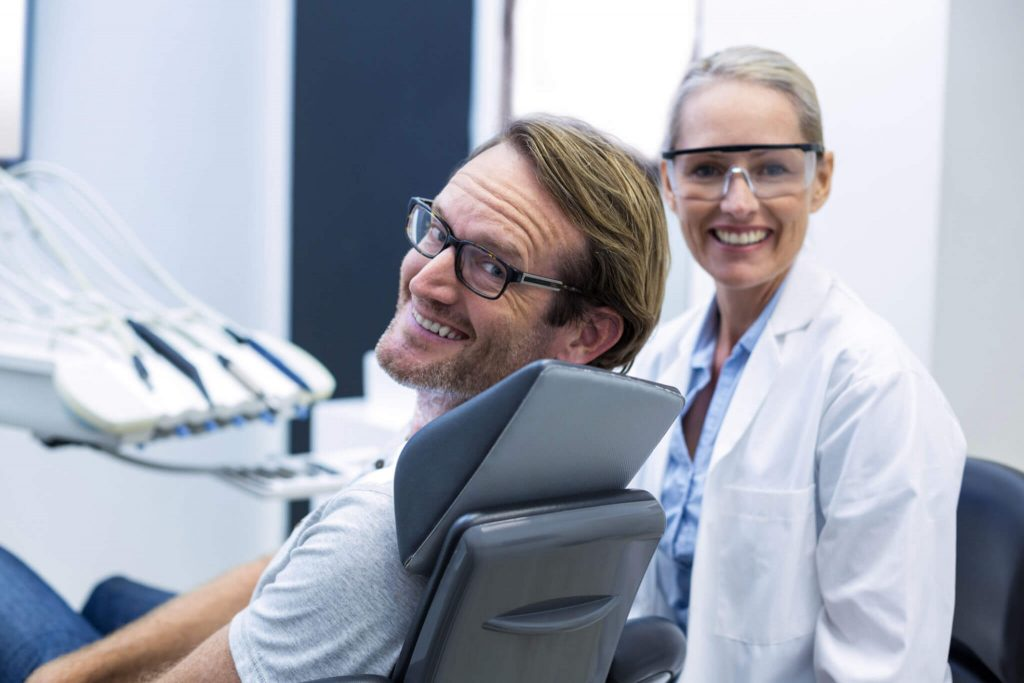 Client and Dentist for Same Day Teeth West Palm Beach